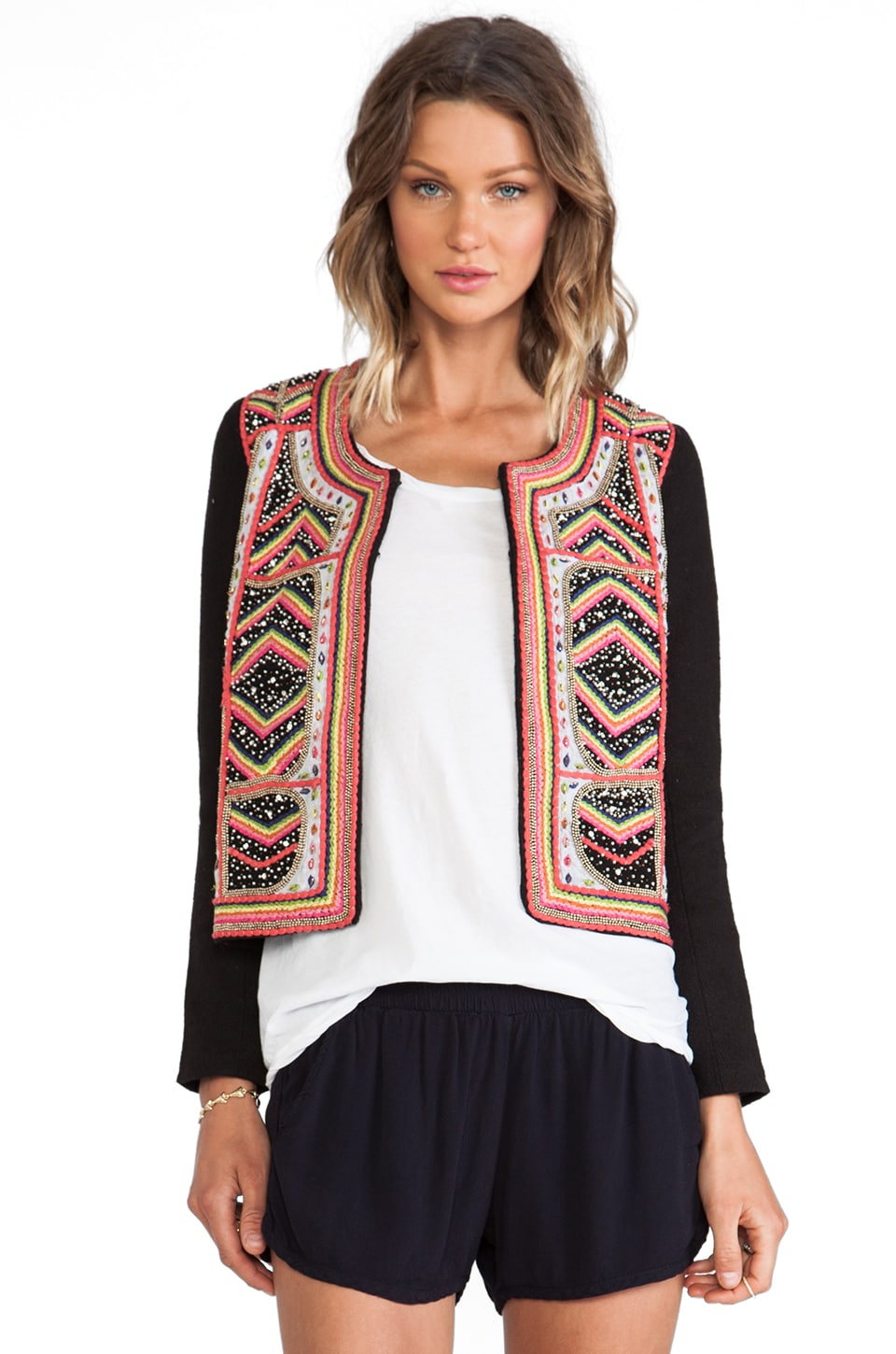 ba&sh Savina Jacket in Rainbow