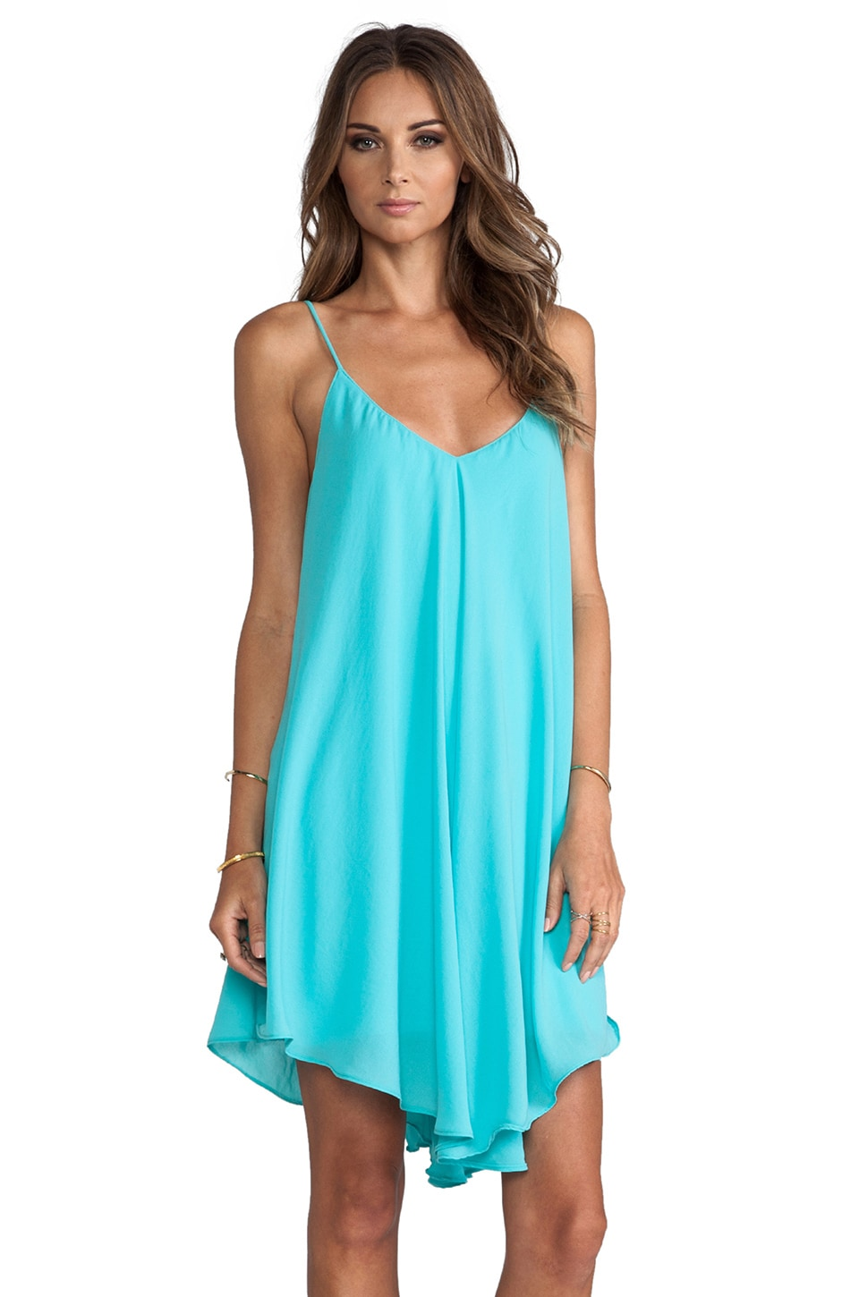 Backstage x REVOLVE Modern Love Dress in Aqua