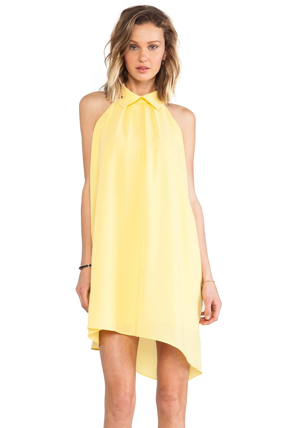 Backstage Monaco Dress in Lemon