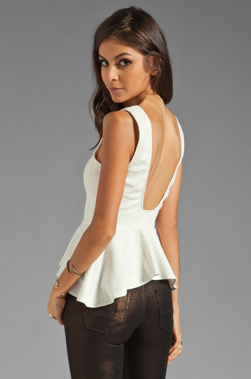 Backstage Jessie Top in Ivory