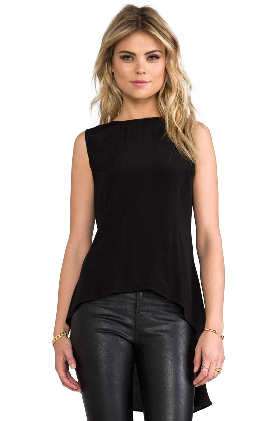 Backstage Express Yourself Top in Black