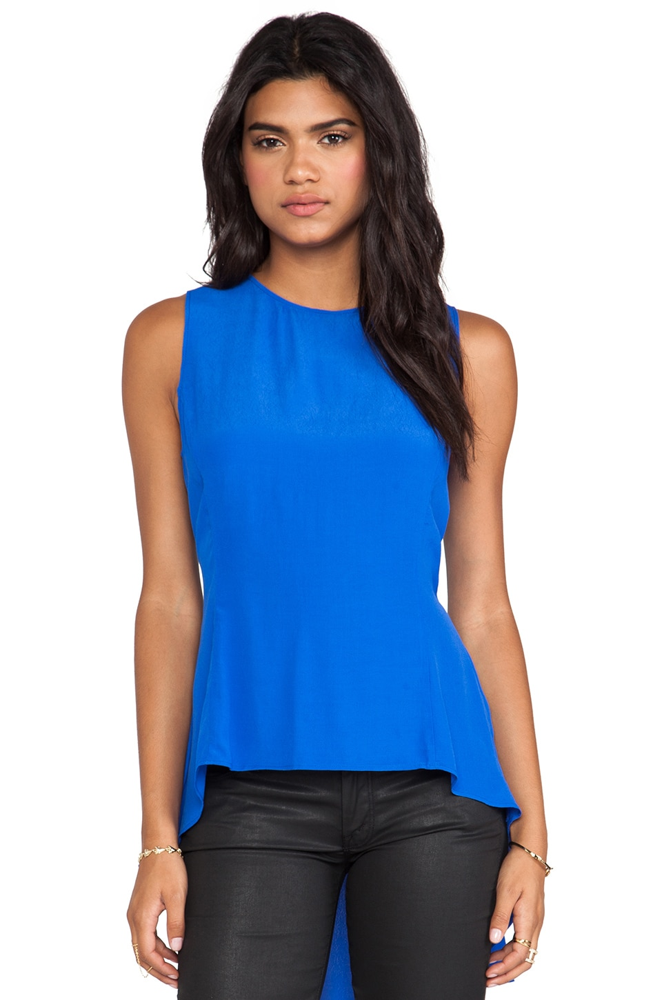 Backstage Express Yourself Top in Cobalt
