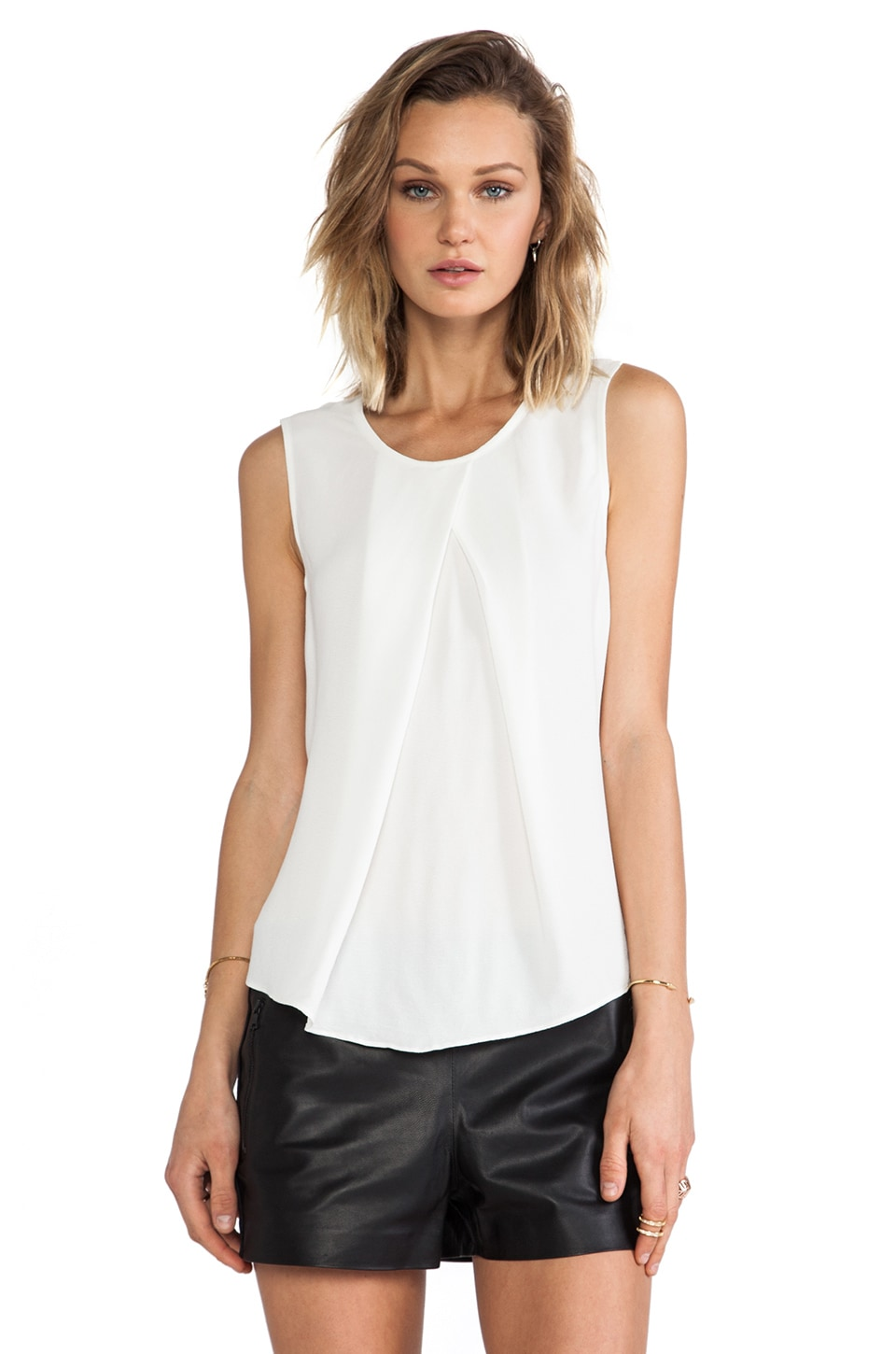 Backstage Audrey Top in Ivory