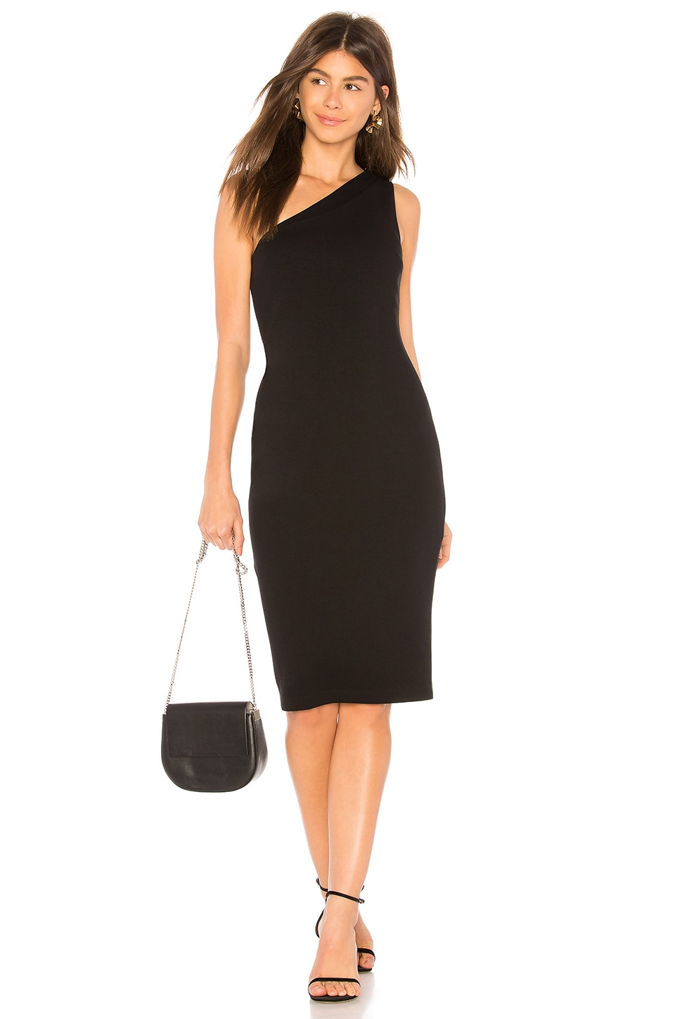 Bailey 44 Sidewinder Dress in Black