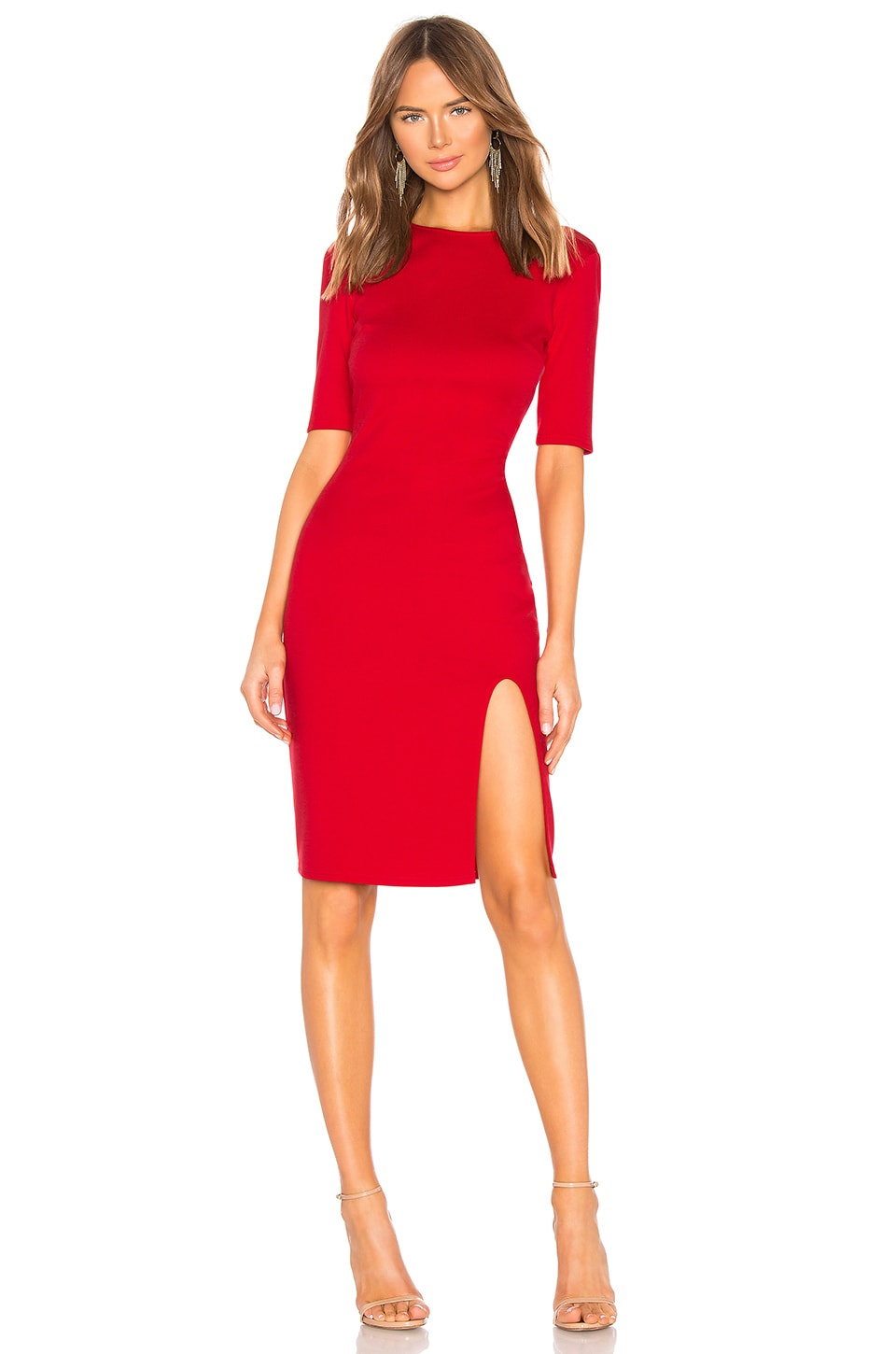 Bailey 44 Vive La Difference Ponte Dress in Bright Red