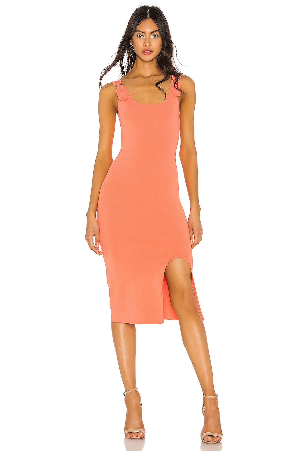Bailey44 Dresses BAILEY 44 BUDTENDER DRESS IN CORAL.