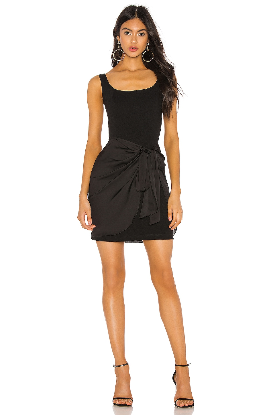 Bailey 44 Synergetic Sarong Dress in Black