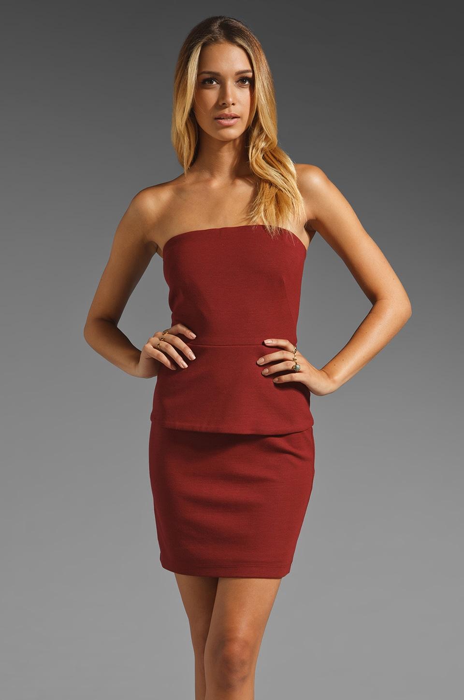 Bailey 44 Dorm Life Peplum Dress in Red