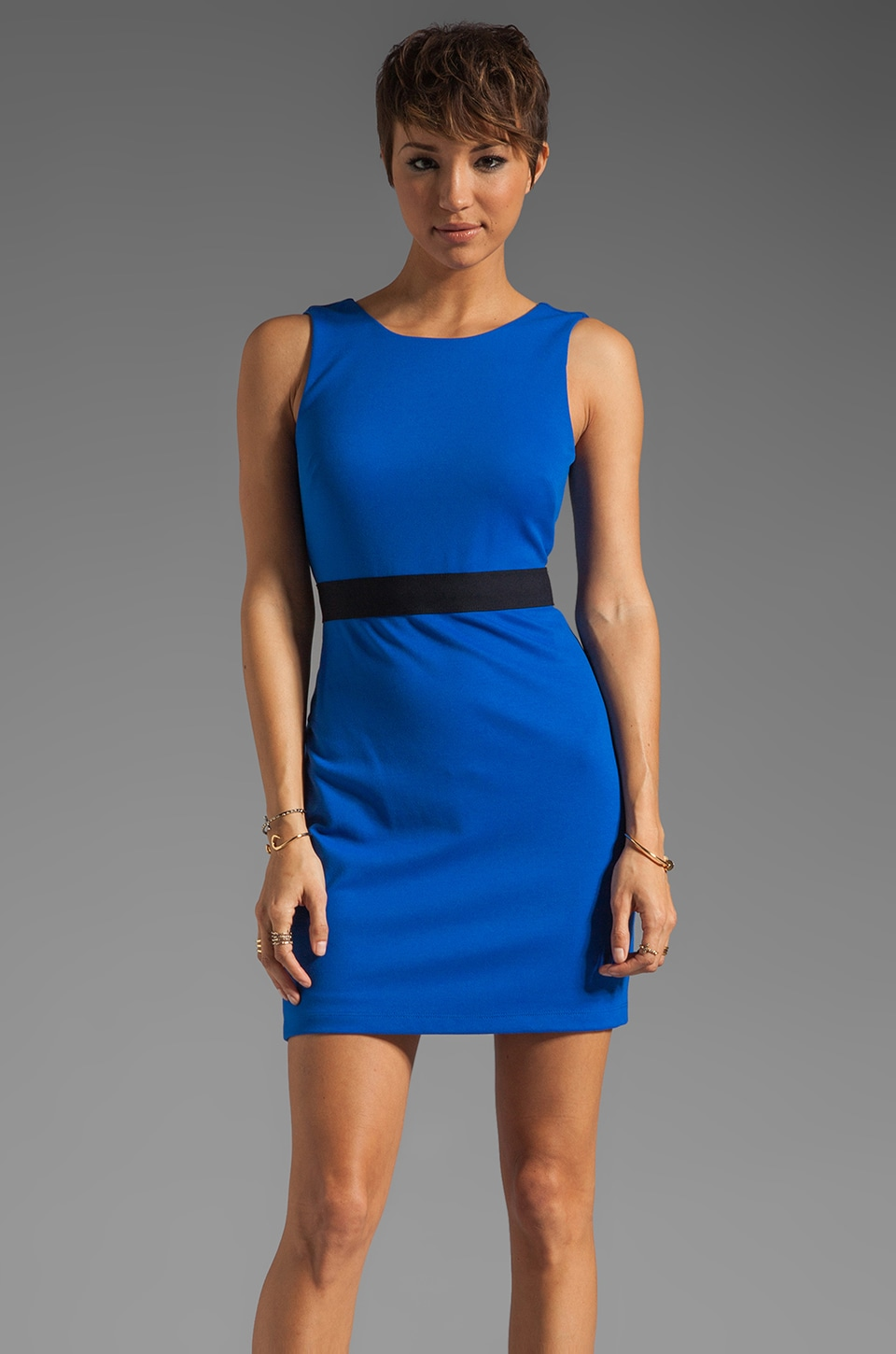 Bailey 44 Finish Line Dress in Blue/Navy