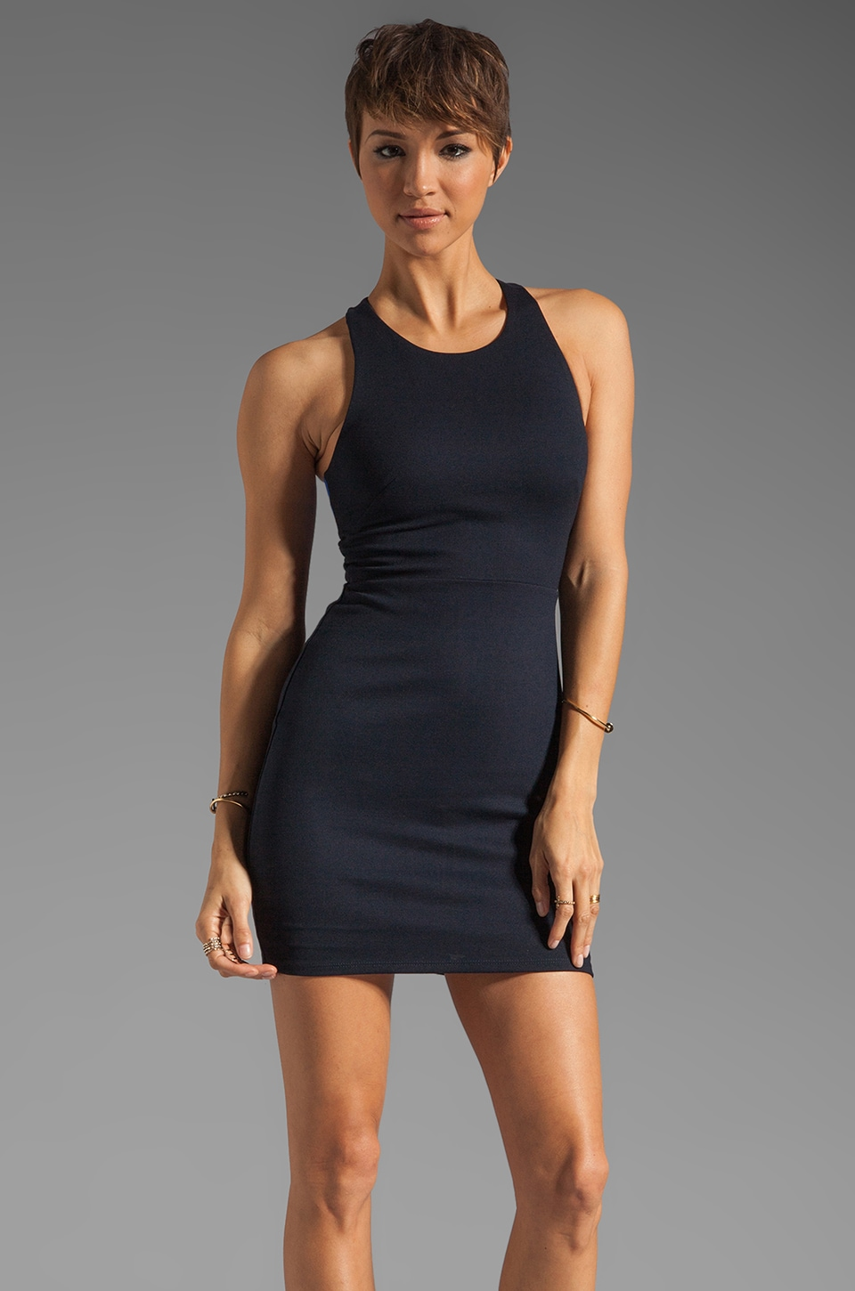 Bailey 44 Anti Doping Dress in Navy/Blue