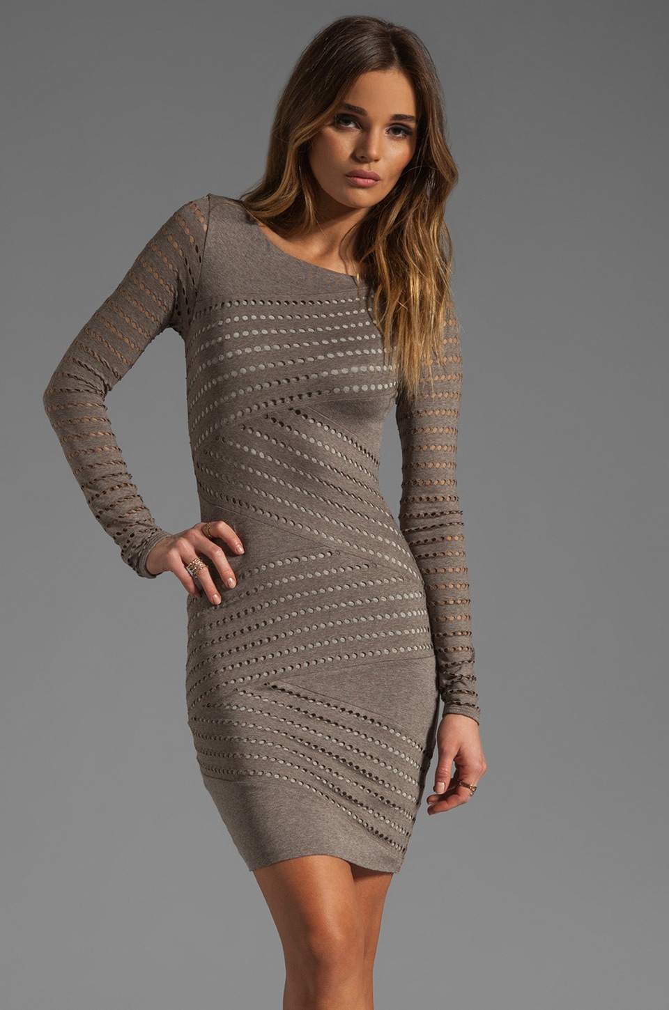 Bailey 44 Tower of Babel Dress in Clay