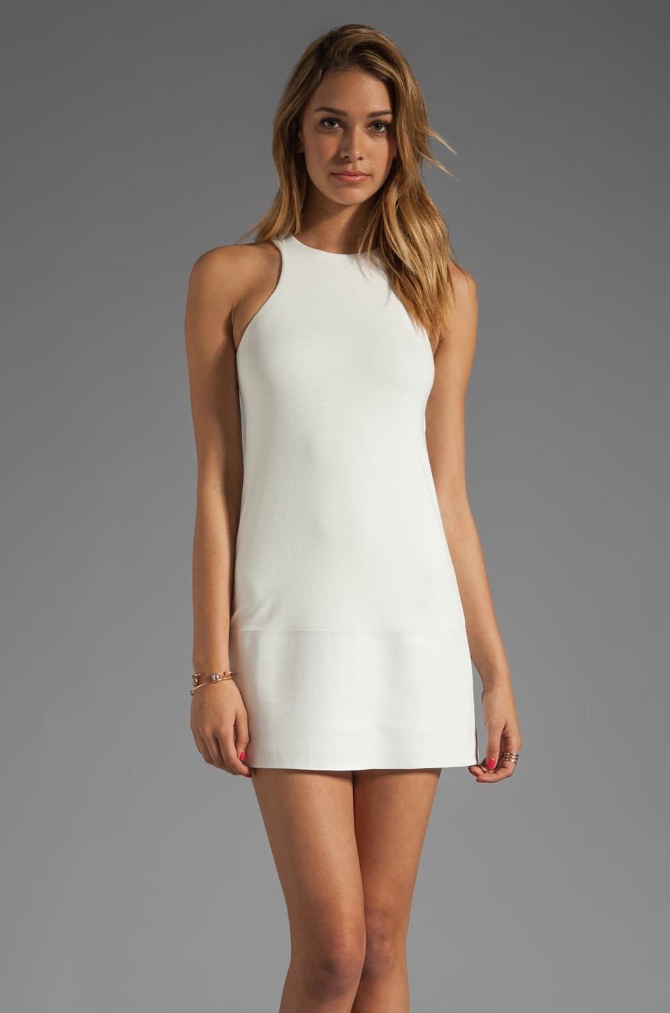 Bailey 44 Don Quixote Dress in Blanco