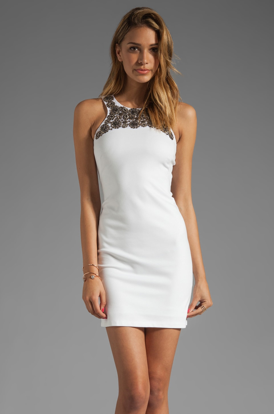 Bailey 44 Tesoro Dress in Blanco