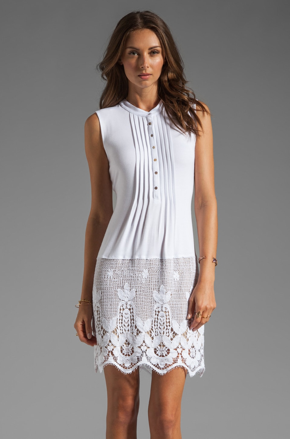 Bailey 44 Cadiz Dress in Blanco