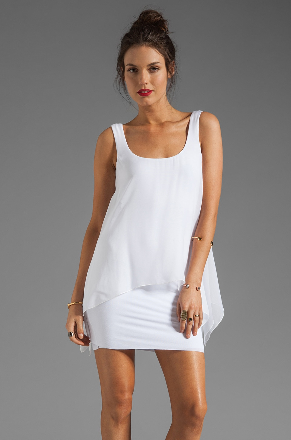 Bailey 44 Manta Ray Dress in White