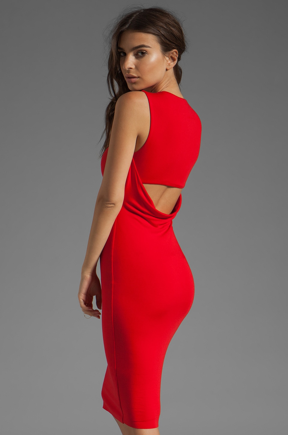 Bailey 44 Downforce Dress in Red