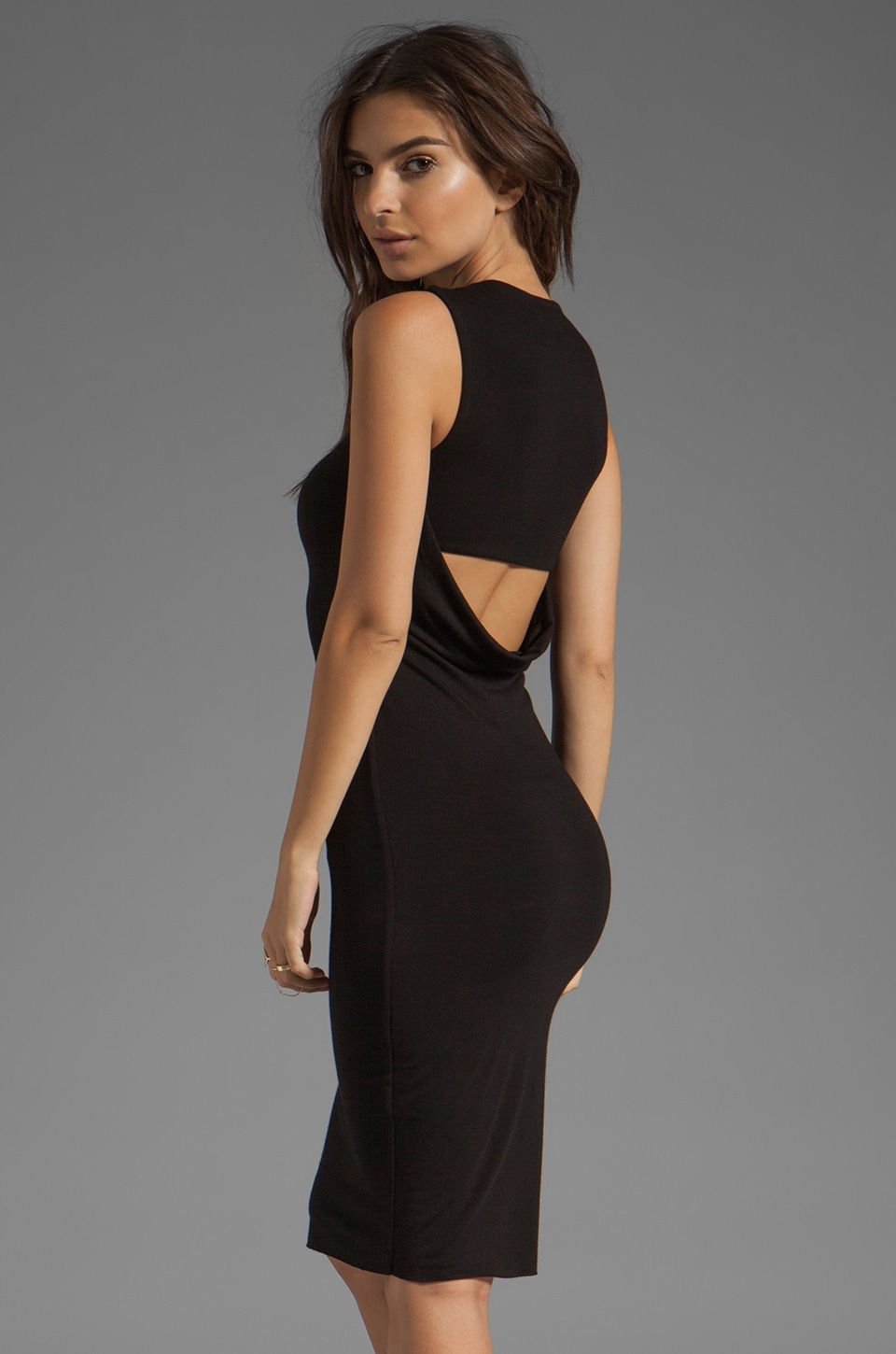 Bailey 44 Down Force Dress in Black
