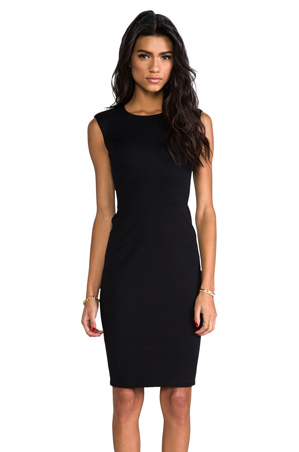 Bailey 44 Dark Net Body Con Dress in Black