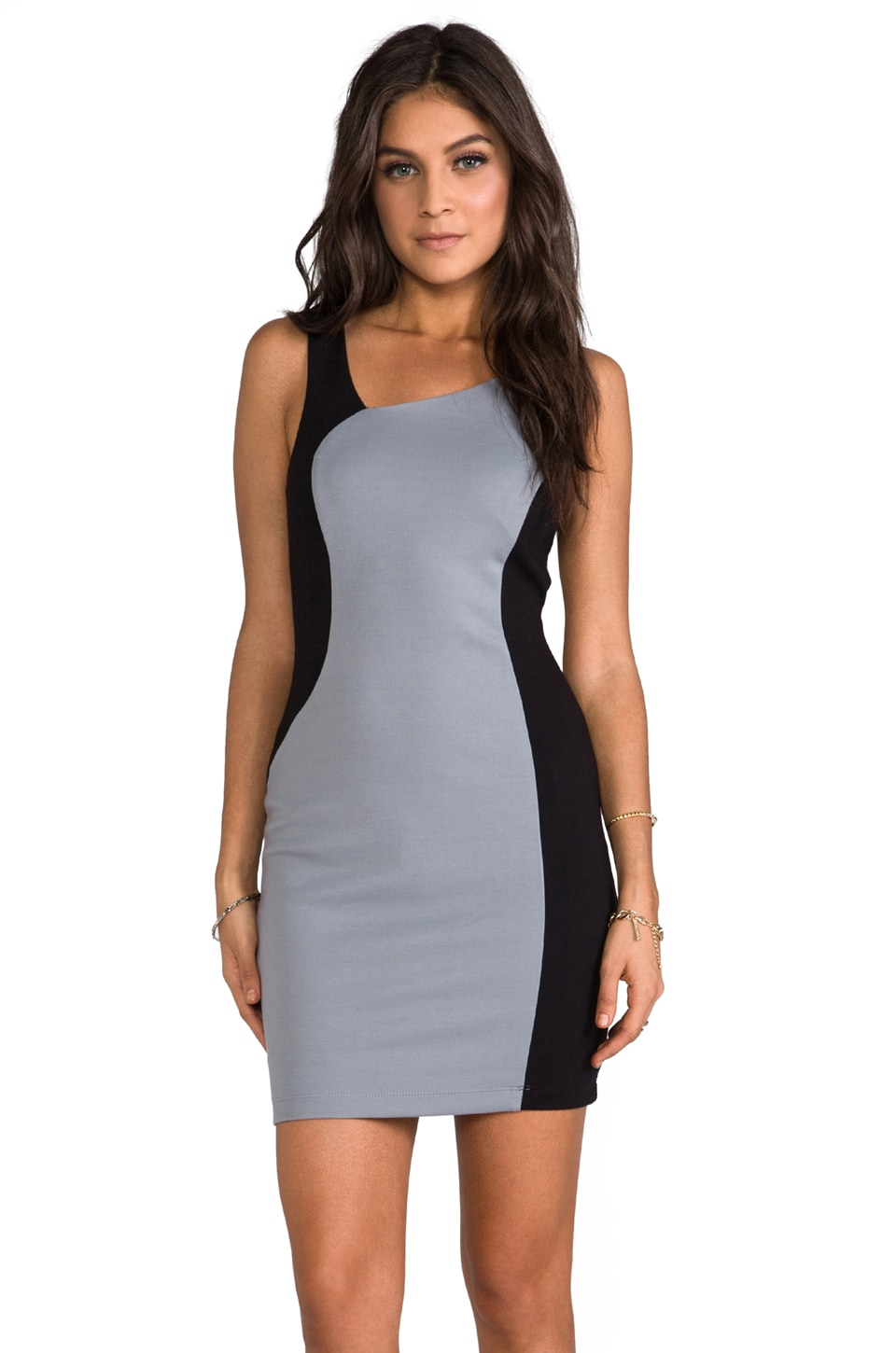 Bailey 44 Time Warp Dress in Black/Silver