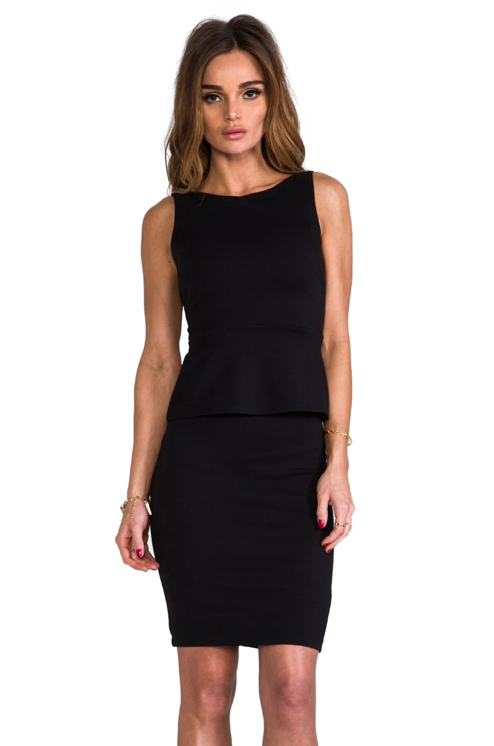 Bailey 44 Movie Marathon Dress in Black