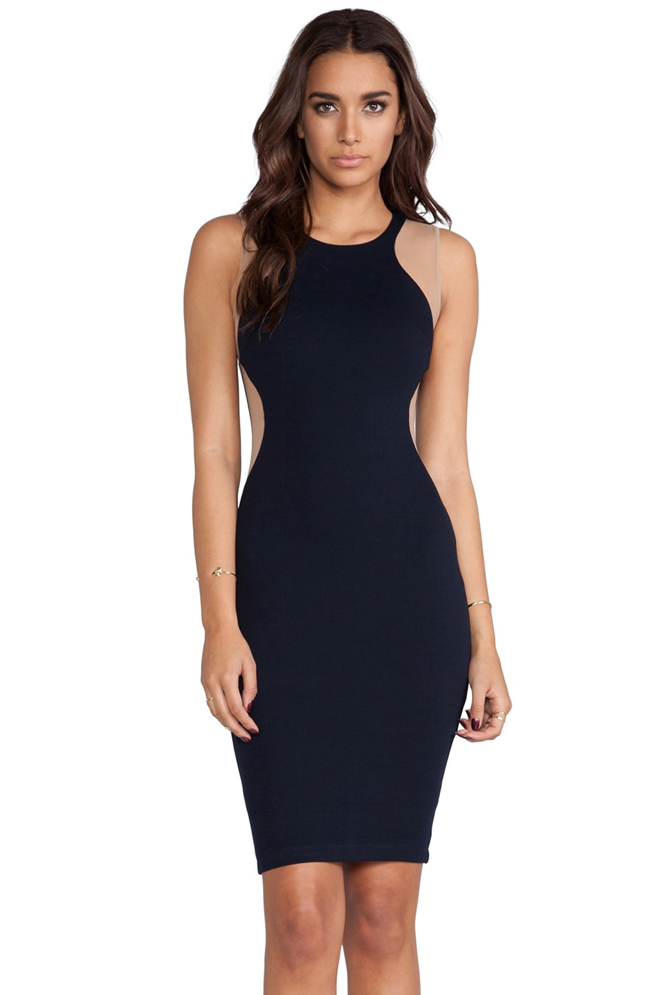 Bailey 44 Man Down Dress in Navy