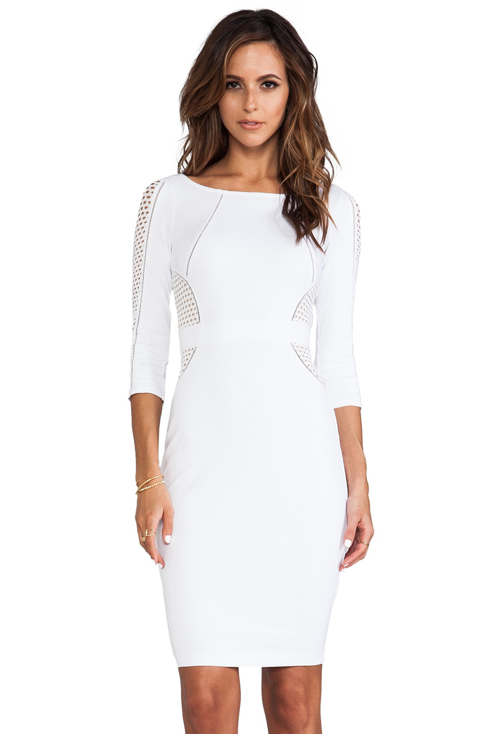 Bailey 44 Decoy Dress in White