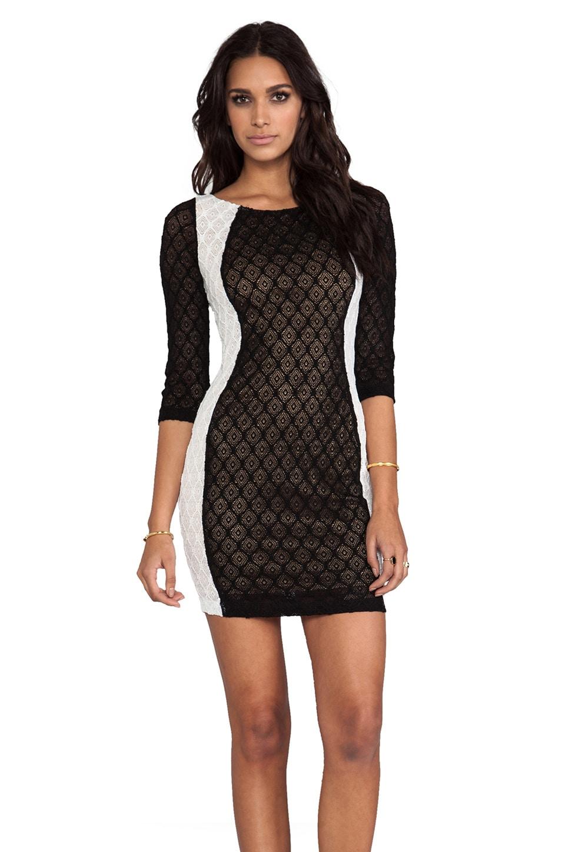Bailey 44 Alexis Dress in Black & White