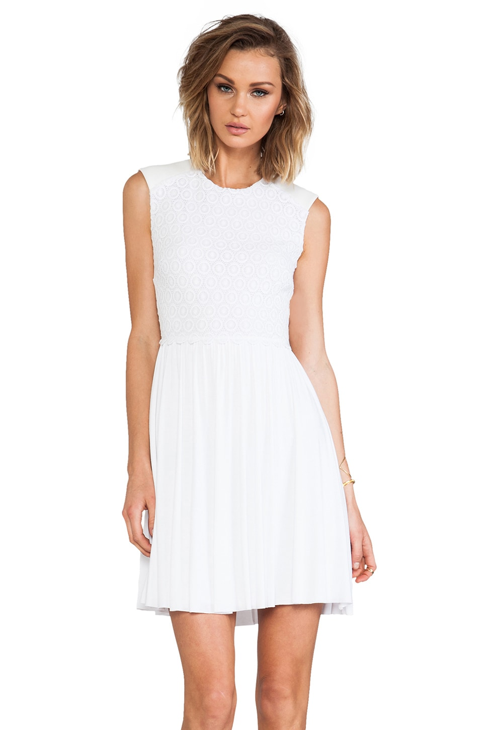 Bailey 44 Debbie Dress in White