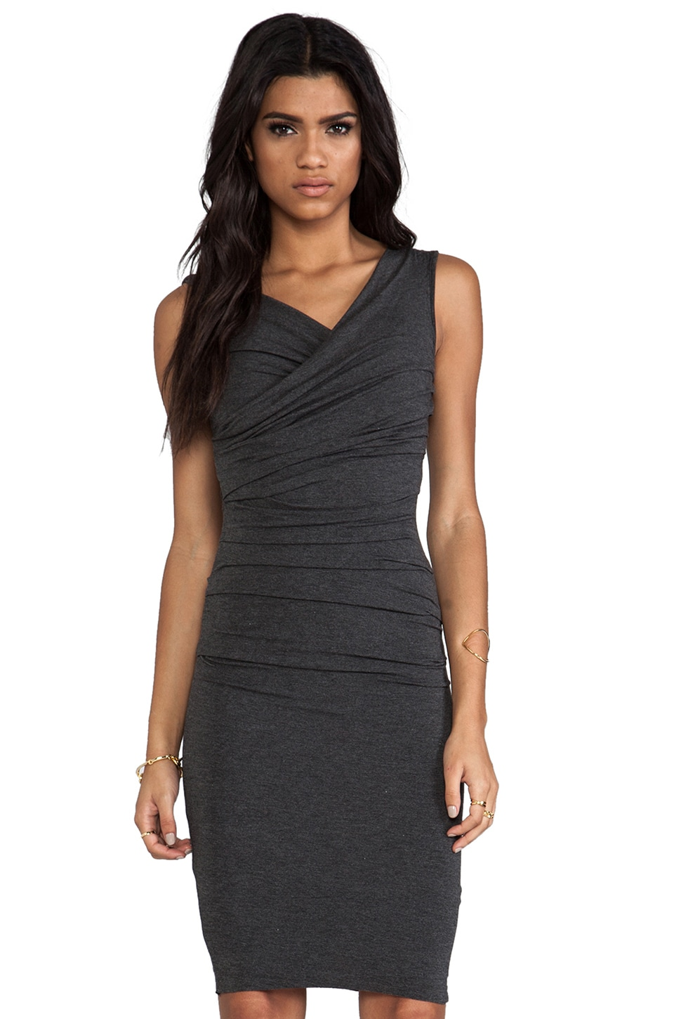 Bailey 44 Marilyn Dress in Charcoal