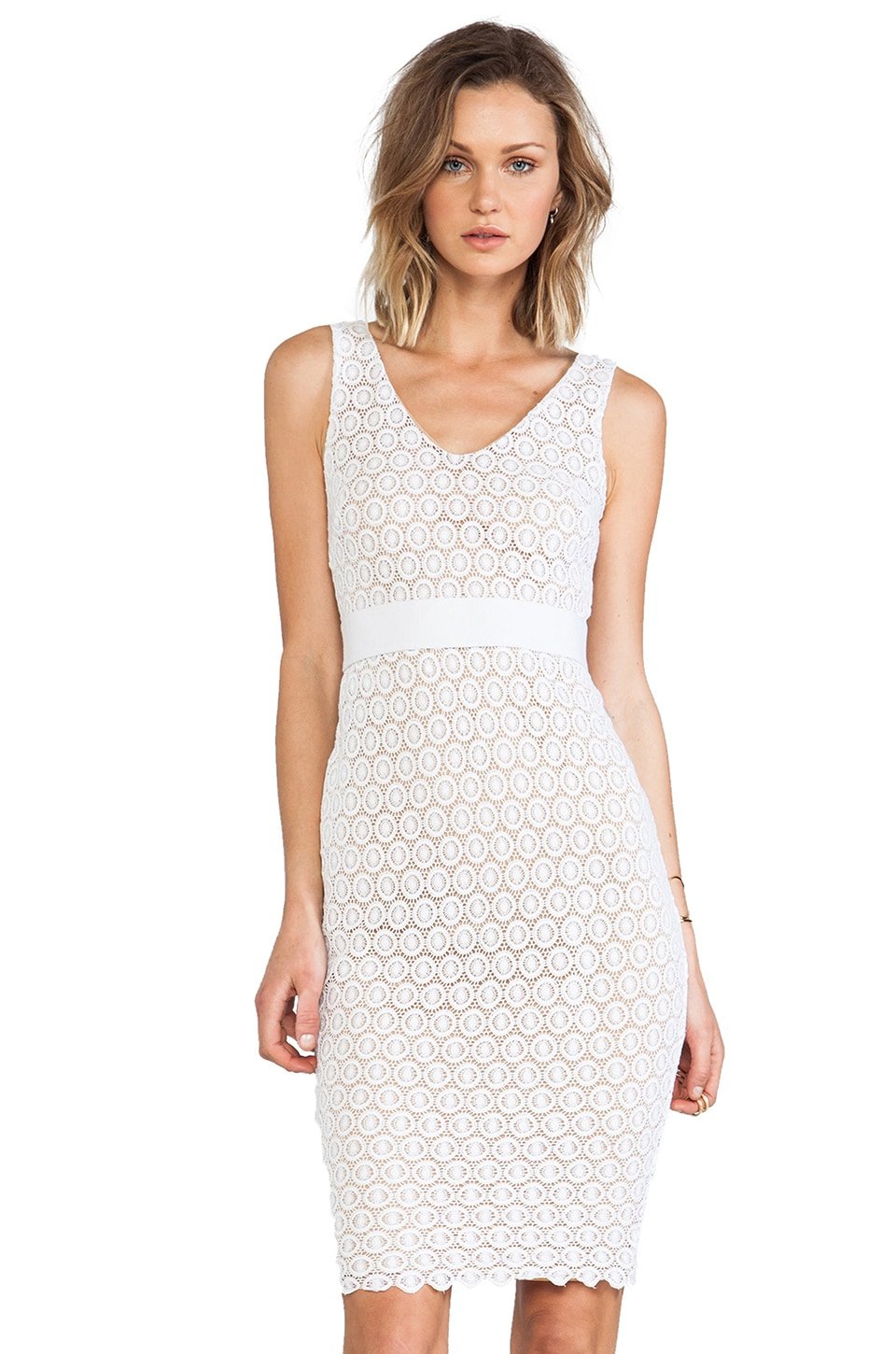 Bailey 44 Tippi Dress in White