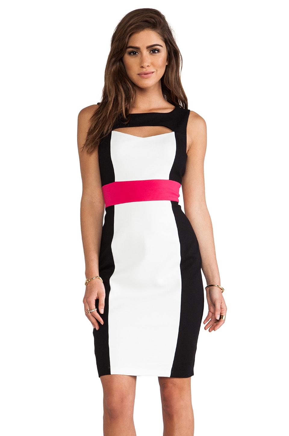 Bailey 44 Doll Face Dress in Rose