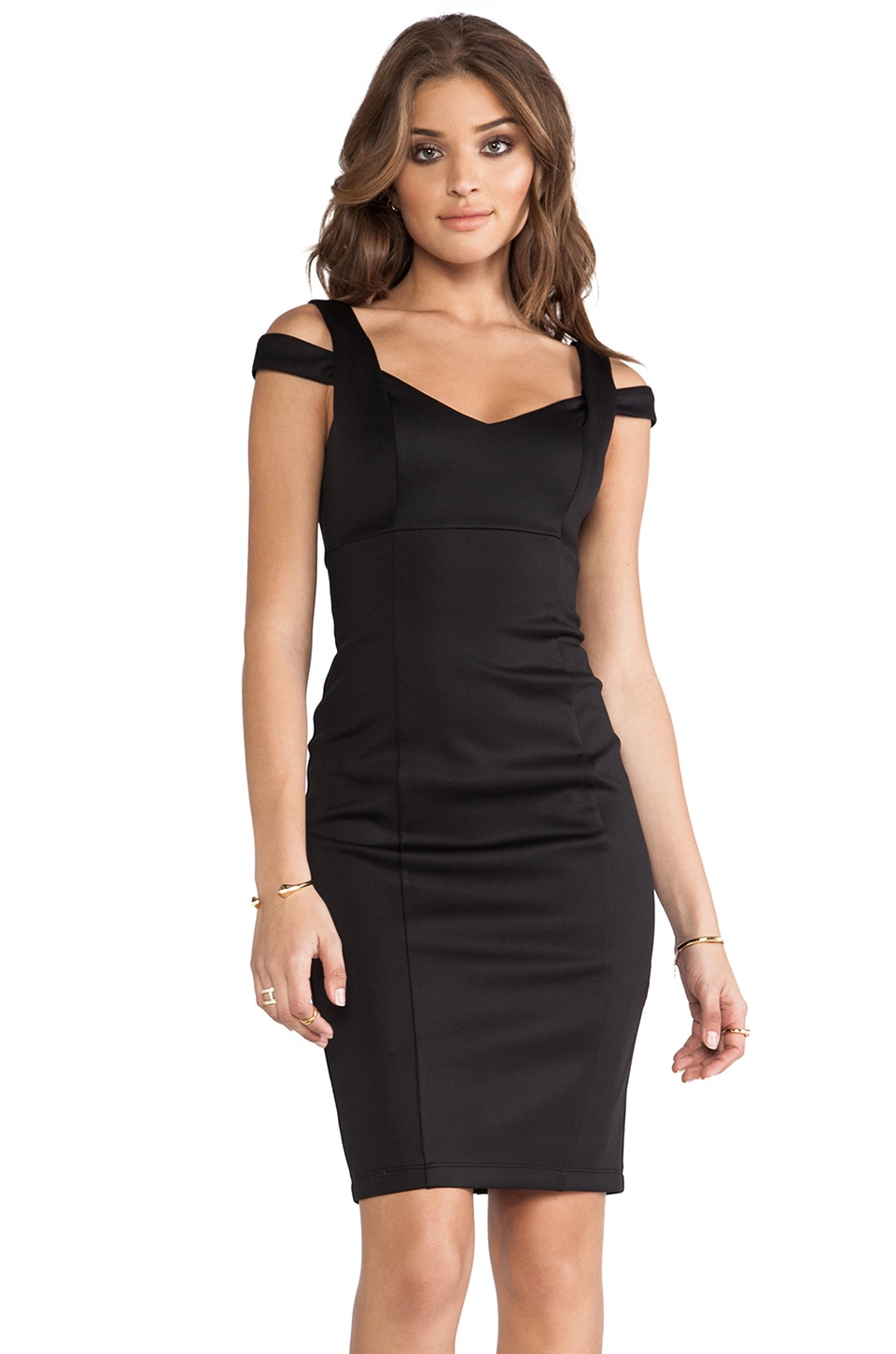 Bailey 44 Glamour Doll Dress in Black