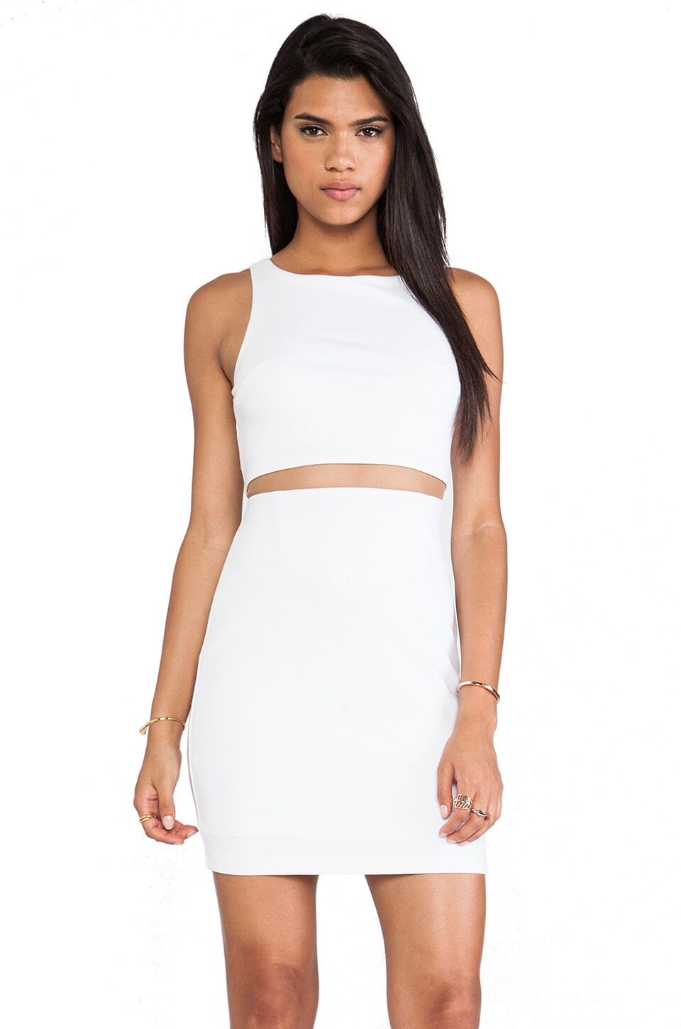 Bailey 44 Middle Linebacker Dress in White