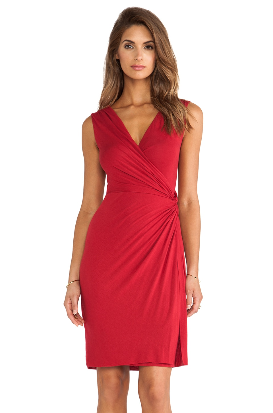 Bailey 44 Drop Kick Dress in Red