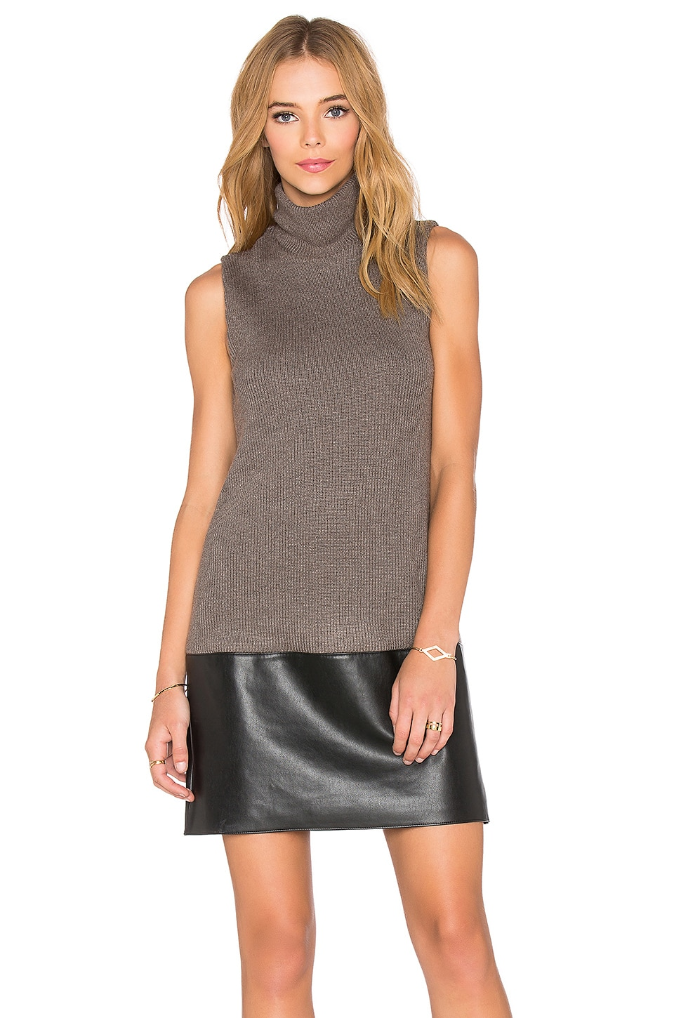 Bailey 44 American in Paris Dress in Taupe & Black