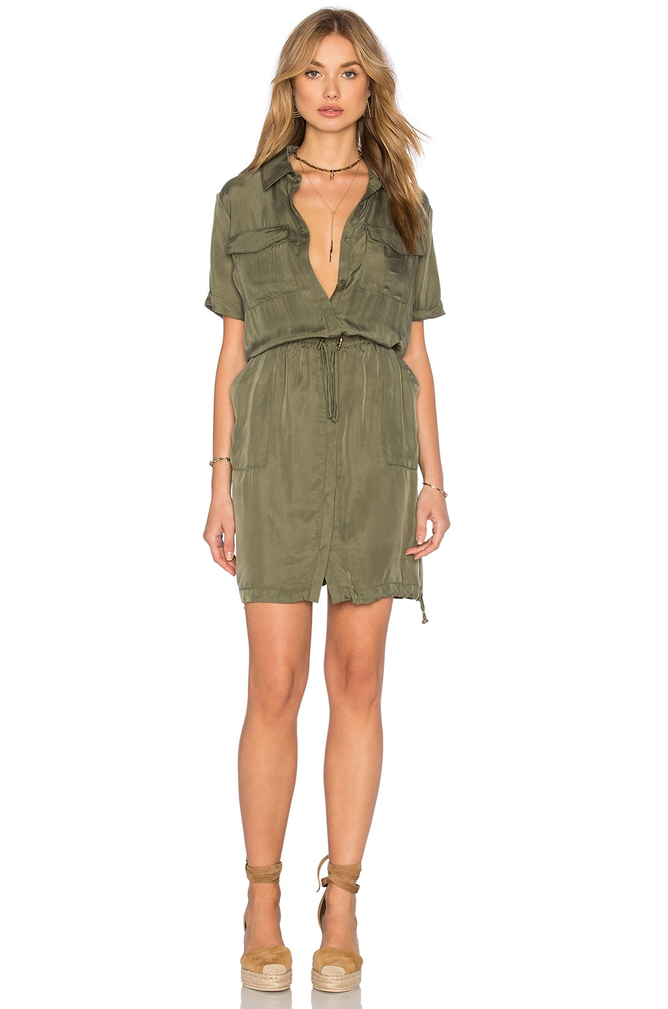 Bailey 44 Lebombo Dress in Olive