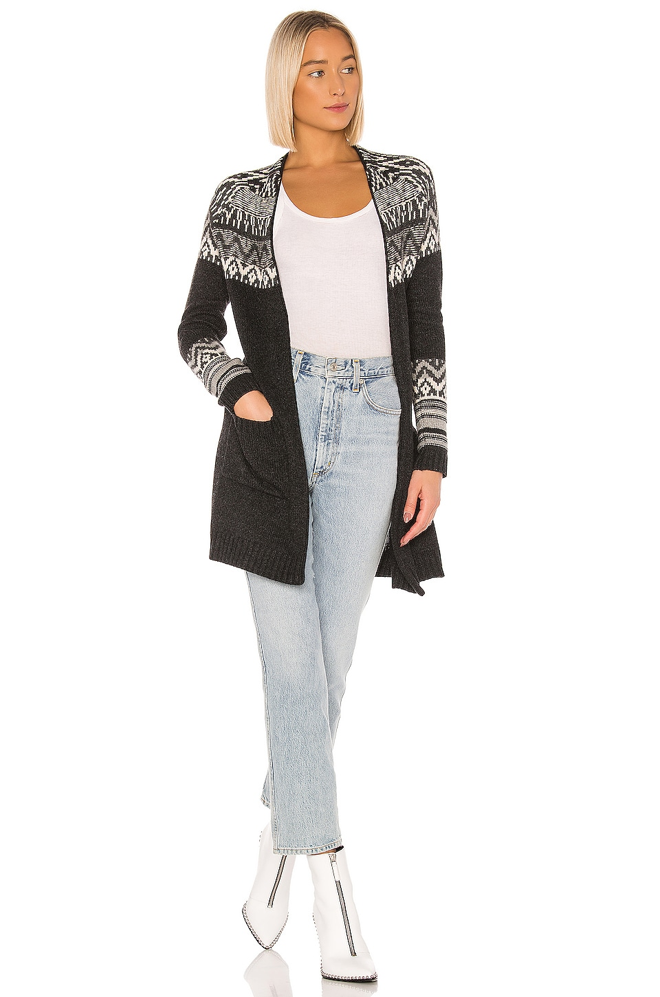 Bailey 44 Adelia Cardigan in Anthracite