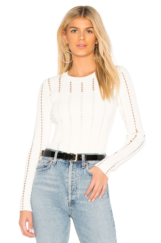 Siberian Pointelle Rib Sweater