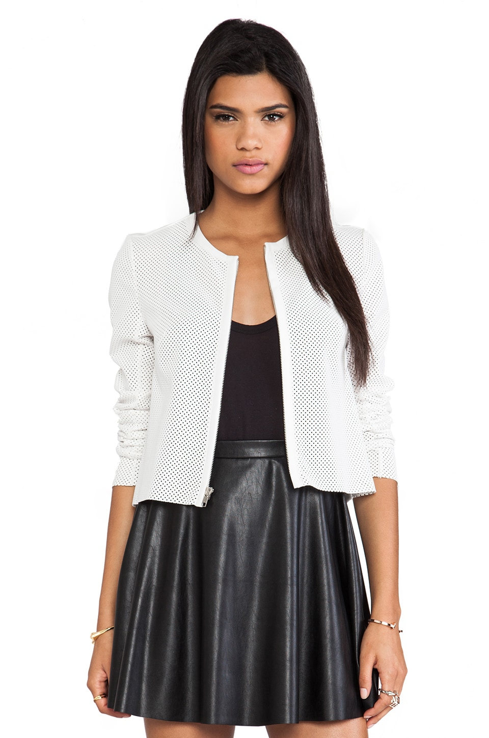 Bailey 44 Cape Jazz Jacket in Alabaster