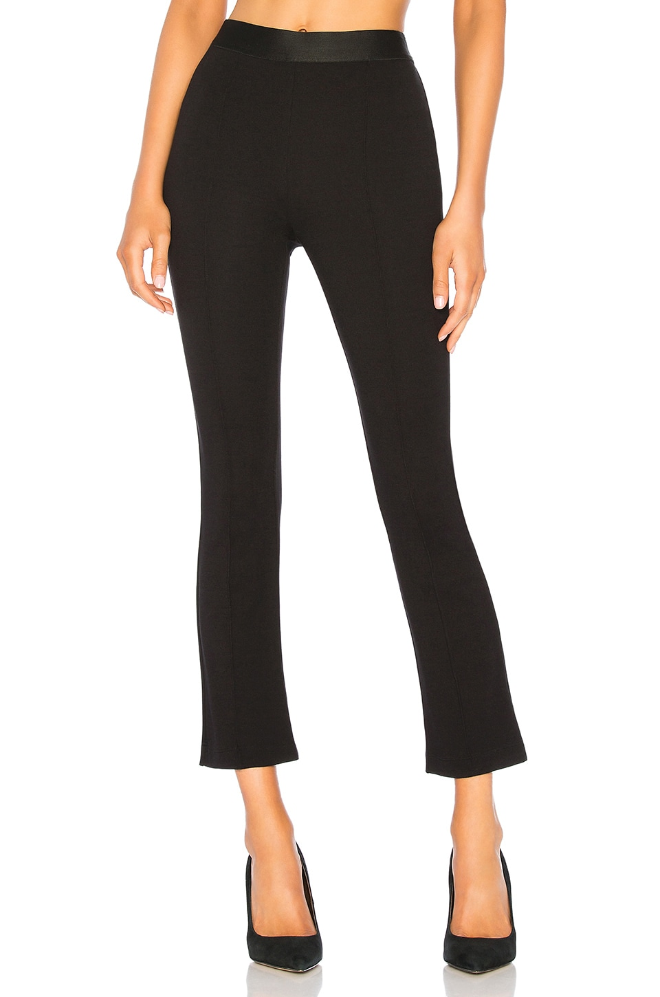 Bailey 44 Provocateur Ponte Flair Pant in Black