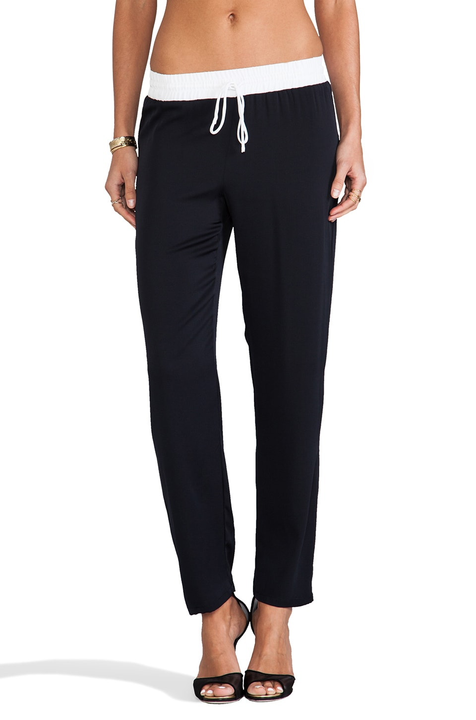 Bailey 44 Penalty Pant in Navy & White