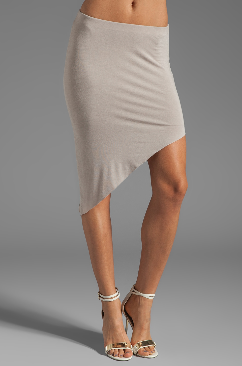 Bailey 44 Shark Tooth Skirt in Beige