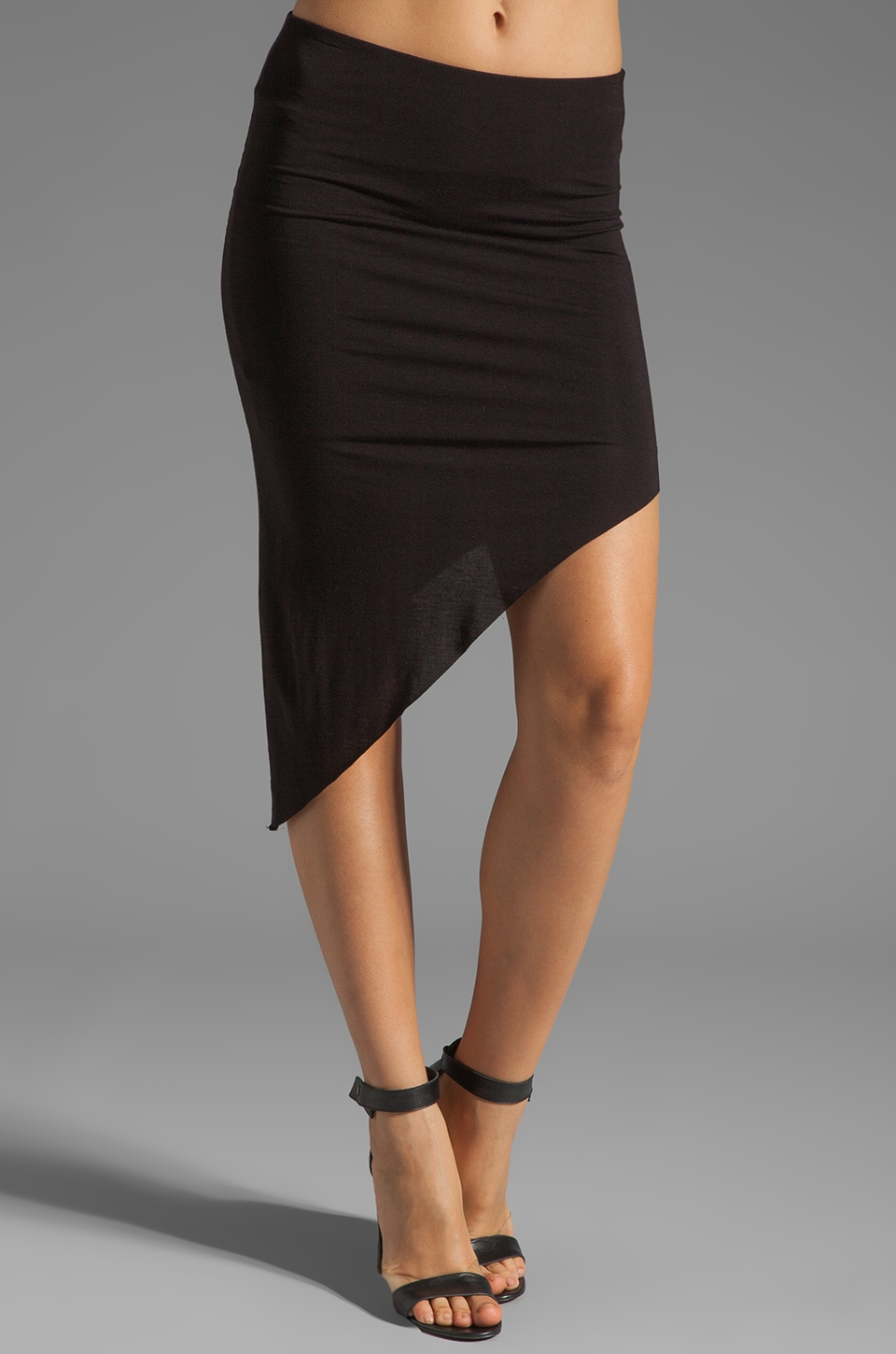Bailey 44 Shark Tooth Skirt in Black
