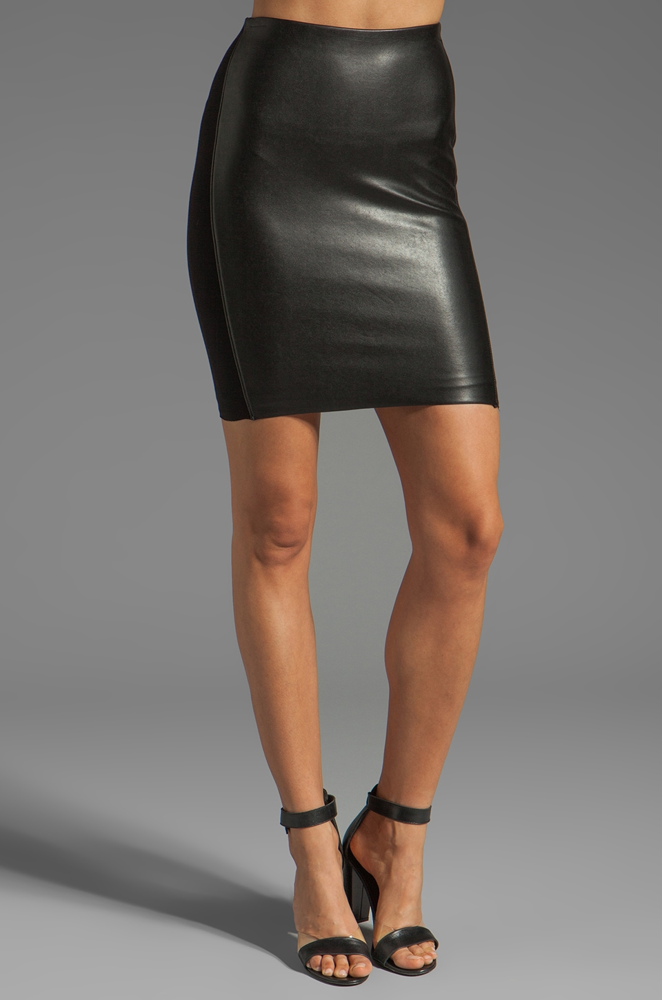 Bailey 44 Speedway Skirt in Black