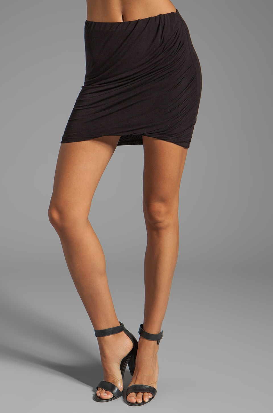 Bailey 44 Saffron Skirt in Black