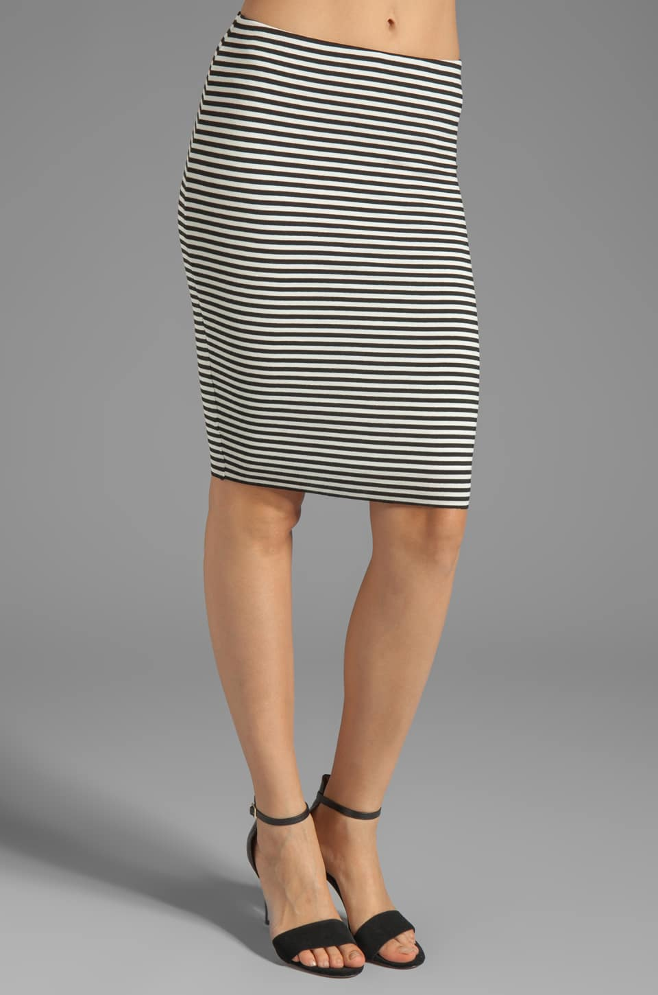 Bailey 44 Shogun Skirt in Black/Creme