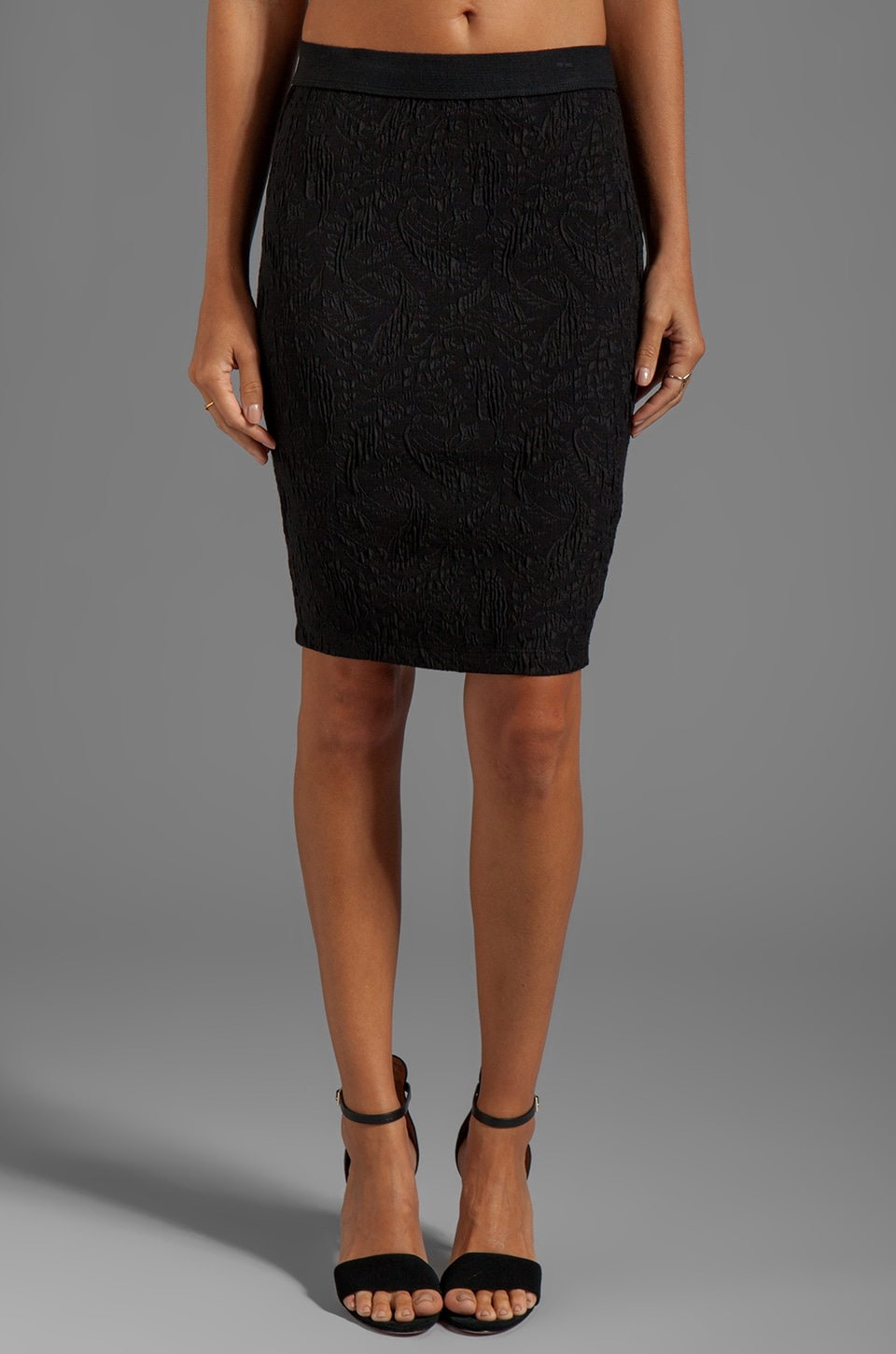 Bailey 44 Syntax Pencil Skirt in Black