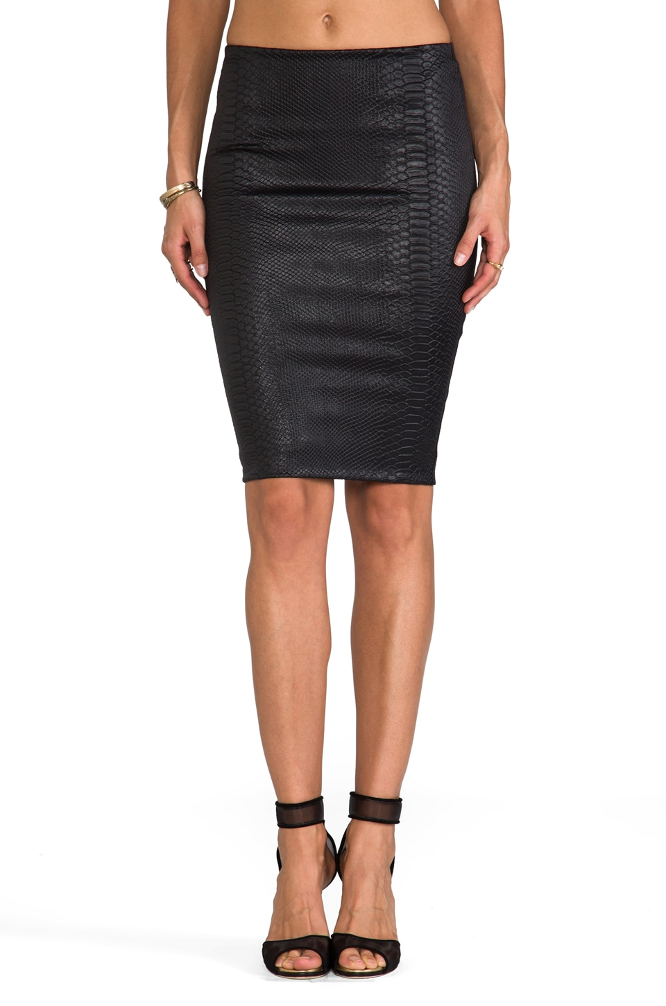 Bailey 44 Satellite Skirt in Black