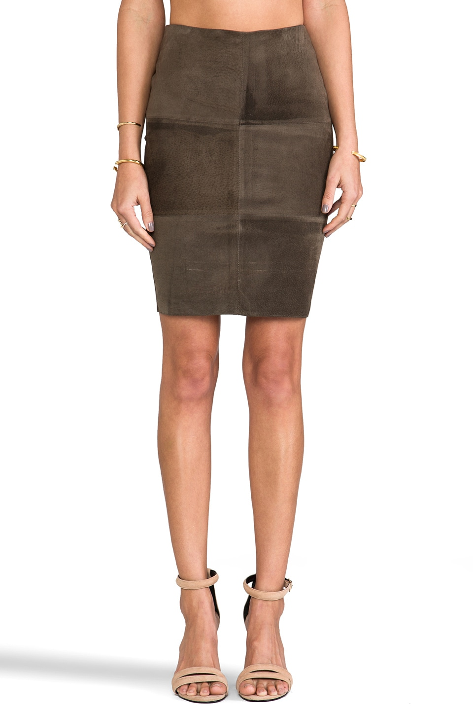 Bailey 44 No Snoring Skirt in Army