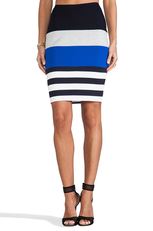 Bailey 44 Breakaway Skirt in Navy & Cobalt